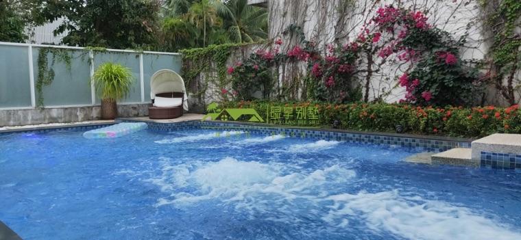 独栋庭院泳池五居别墅